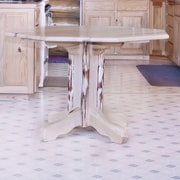 Montana Woodworks  Montana Table Center Pedestal Dining Table; Ready