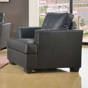 Beverly Fine Furniture Cecilia Lounge Chair; Black