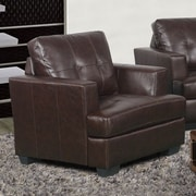 Beverly Fine Furniture Cecilia Lounge Chair; Brown