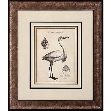 Propac Images Egret Stork 2 Piece Framed Graphic Art Set