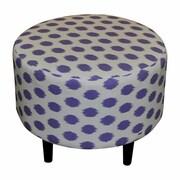 Sole Designs Sophia Jojo Round Ottoman; Jojo Thistle