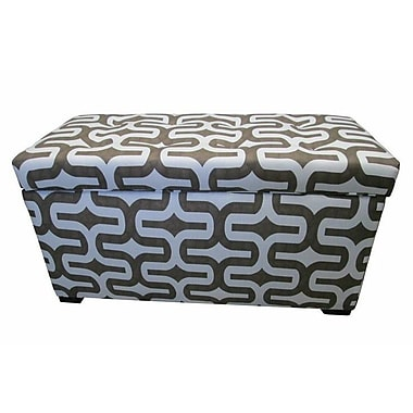 Sole Designs Angela Storage Bedroom Bench; Embrace Brown