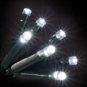 Hometime 100 LED White Holiday Lights