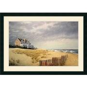 Amanti Art 'Beach House' by Daniel Pollera Framed Painting Print