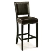 Abbyson Living Napa 30'' Bar Stool; Brown
