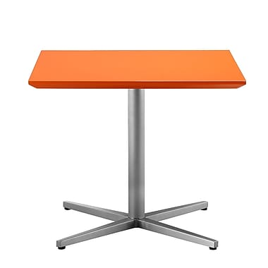 Pangea Home Chase End Table; Orange