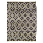 Kaleen Kenwood Grey/Purple Area Rug; 2' x 3'