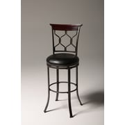 Fashion Bed Group Tallahassee 30'' Swivel Bar Stool with Cushion
