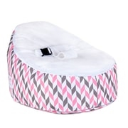 Totlings  Snugglish Bean Bag Chair; Cream / White