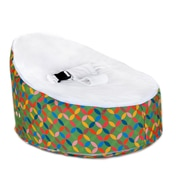 Totlings  Snugglish Bean Bag Chair; Green / White