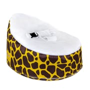 Totlings  Snugglish Bean Bag Chair; Gold / White
