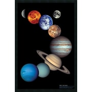 Amanti Art NASA Solar System Framed Graphic Art