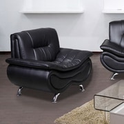 Beverly Fine Furniture Lena Chair; Black