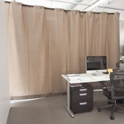 RoomDividersNow Loft Style Room Divider Kit - For Rooms 96'' Tall & 84'' to 150'' Wide; Khaki