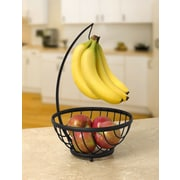Spectrum Diversified Ashley Small Tree Fruit Basket; Black