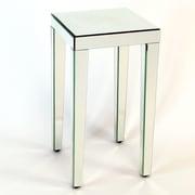 Wayborn Beveled Mirror End Table