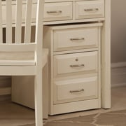 Liberty Furniture 2-Drawer Mobile File Cabinet; White