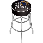 "Trademark Global 31""H University of Kentucky Wildcats Bar Stool with Swivel, Smoke Chrome (KY1000-SMOKE)"