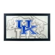 Trademark Global University of Kentucky Wildcats Framed Logo Mirror, Fade (KY1500-FADE)