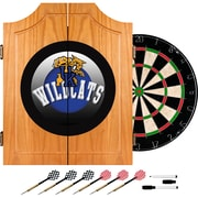 Trademark Global University of Kentucky Wildcats Dart Cabinet Set, Honeycomb Wood (KY7000-HC)