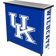 University of Kentucky Portable Bar with Case, Text and Logo Design (KY8000-TXT)