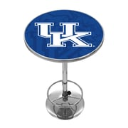 Trademark Global University of Kentucky Chrome Pub Table, Fade (KY2000-FADE)
