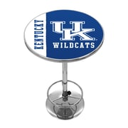 Trademark Global University of Kentucky Chrome Pub Table, Text (KY2000-TXT)
