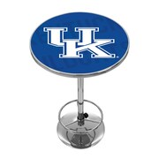 Trademark Global University of Kentucky Chrome Pub Table, Wordmark (KY2000-WM)