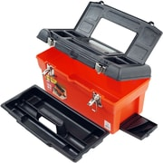 "Trademark Global Stalwart 16.5"" Utility Tool Box, 7 Compartments and Tray (75-20105A)"