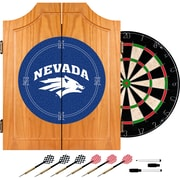 Trademark Global University of Nevada Wood Dart Cabinet Set (CLC7000-UN)