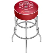 "Trademark Global 31""H Ohio State National Champions Chrome Bar Stool with Swivel (OSU1000-NC2)"