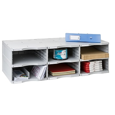 Paperflow 2000 ArchivoDoc Trio Jumbo Literature and Forms Sorting Station w/ 6 Compartments