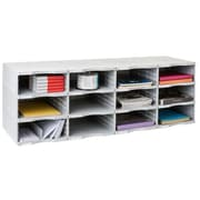 Paperflow ArchivoDoc Quadro Jumbo Literature and Forms Sorting Station with 12 Compartment