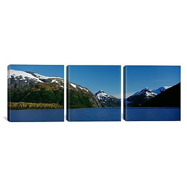 iCanvas National Forest, Near Anchorage, Alaska 3 Piece Photographic Print on Wrapped Canvas Set