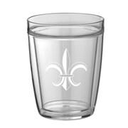 Kraftware Fleur De Lis 14 Oz. Everyday Tumbler (Set of 4); 14 oz.