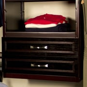 John Louis Home 16'' x 6'' Woodcrest Drawer; Espresso
