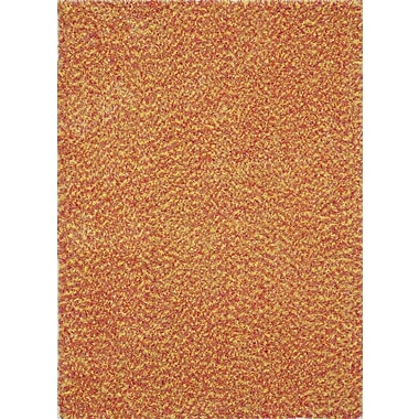 InnerSpace Luxury Products Vivoli Pink and Orange Kids Area Rug