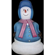 Queens of Christmas 5.5' Papa Snowman Statue