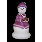 Queens of Christmas 5' Mama Snowman Figurine