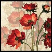 PTM Images Bright Flower 2 Piece Framed Graphic Art Set