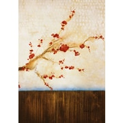 PTM Images Cherry Blossom Painting Print on Wrapped Canvas