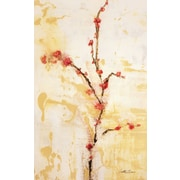 PTM Images Cherries and Cream Painting Print on Wrapped Canvas