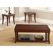 Steve Silver Furniture Aubrey 3 Piece Coffee Table Set