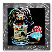 All My Walls 'Gumball' by Shelley Overton Painting Print Plaque