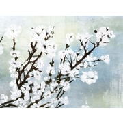 PTM Images Cherry Blossom II Painting Print on Wrapped Canvas