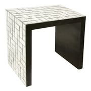 Howard Elliott Mosaic End Table