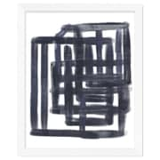 PTM Images Line Work Gicl e Framed Painting Print