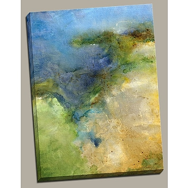 Portfolio Canvas ''Sunlit Sound'' Painting Print on Wrapped Canvas