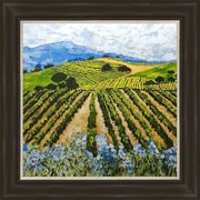 PTM Images Elegant Vineyard Framed Painting Print
