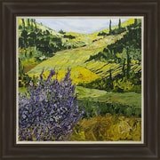 PTM Images Elegant Fields Framed Painting Print